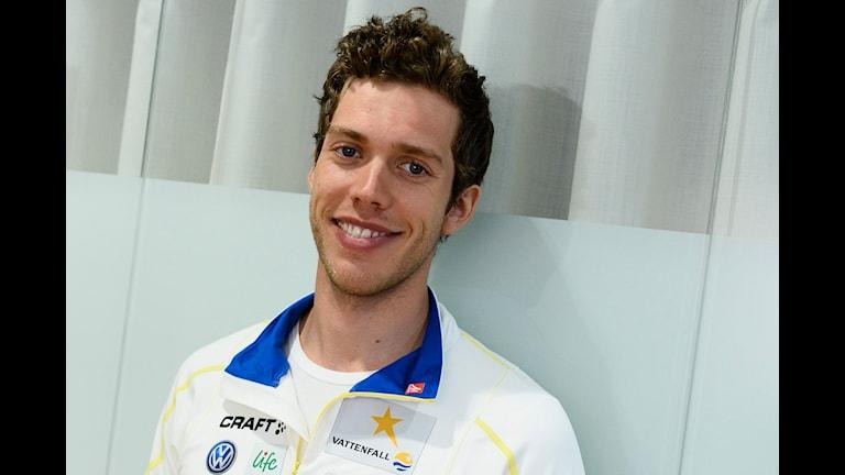 Det blev ingen kvartsfinal för Marcus Hellner. Foto: Claudio Bresciani/TT