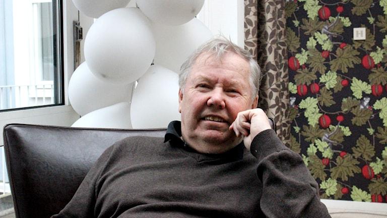 Bert Karlsson. Foto: Marie Schnell / P4 Skaraborg Sveriges Radio