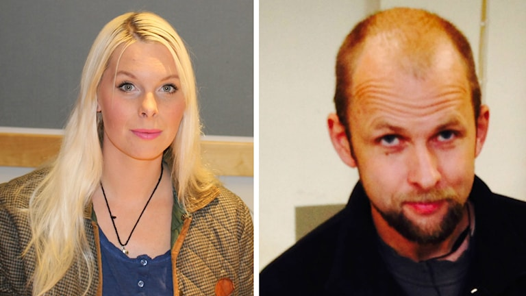 Kollage Hanna Wigh och Anders Forsberg