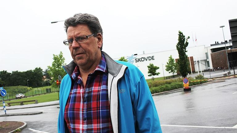 IFK Skövdes klubbchef Bosse Andersson.