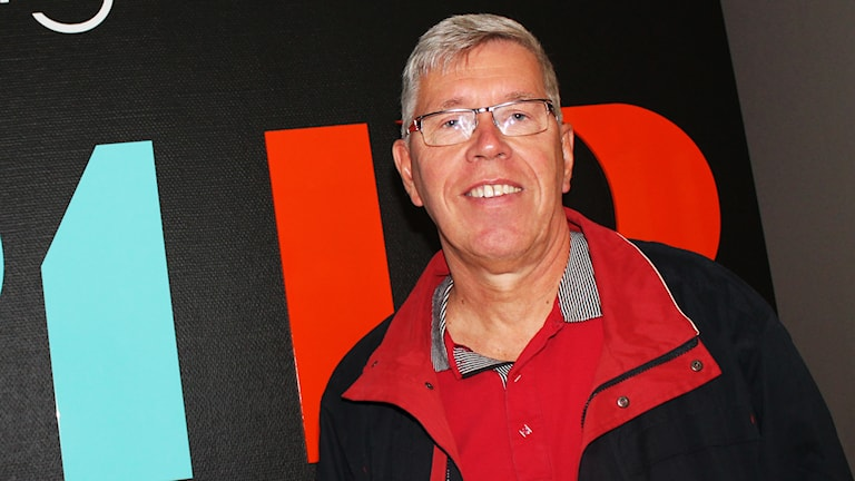 Leif Olsson, sportchef och vice ordförande i IFK Skövde Handboll. Arkivfoto: Christopher Johansson / P4 Skaraborg Sveriges Radio