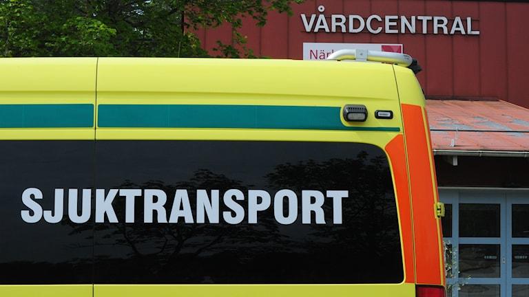 Vårdvalet - en reform som missgynnade de sjuka och gynnade friska. Foto: Mary Chitgar / P4 Skaraborg Sveriges Radio.