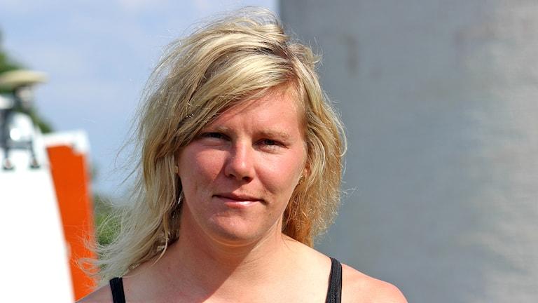 Helena Jansson. Foto: Marie Schnell / Sveriges Radio