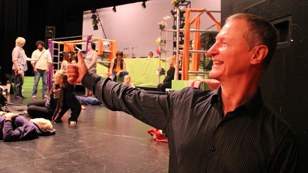 Bo Westerholm regisserar musikalen Hair. Foto: Maja Falkeborn Willner