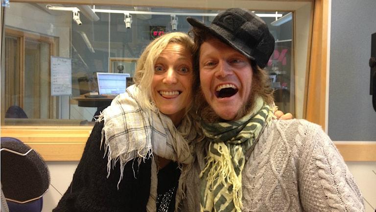 Karin och Jocke Assarsson. Foto: Camilla Milton /P4 Skaraborg Sveriges Radio