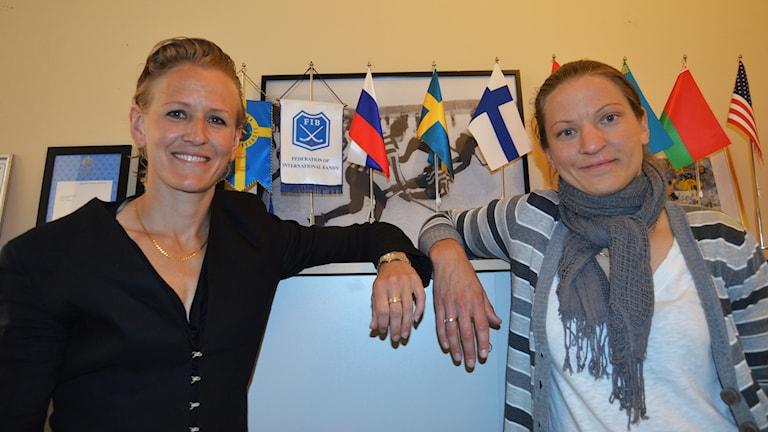 Anna Jepson och Anna Lundin