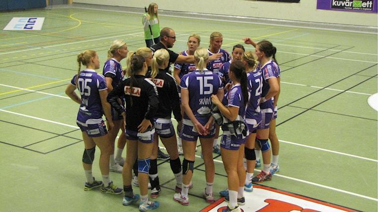 Skara HF fick nöja sig med tre raka segrar efter förlust borta mot IF Hellton. Arkivbild: Andreas Johnsson, Sveriges Radio P4 Skaraborg