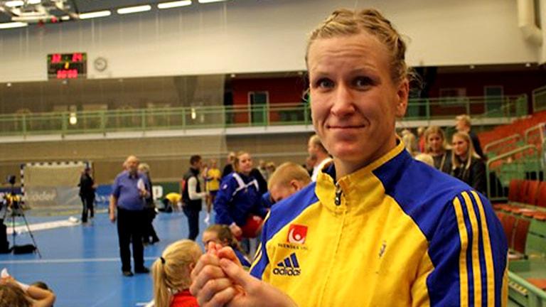 Anna-Maria Johansson. Foto: Tommy Järlström / Sveriges Radio