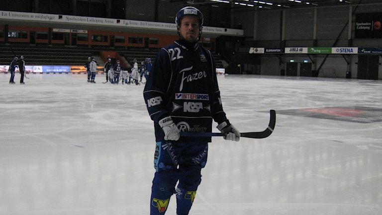 Martin Andreasson var nedstämd efter att Villa kammat noll på Skarpe Nord. Arkivfoto:Andreas Johnsson, Sveriges Radio P4 Skaraborg.