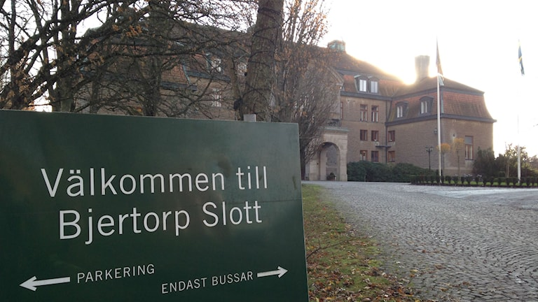 Bjertorp slott. Foto: Jenny Josefsson P4 Skaraborg Sveriges Radio