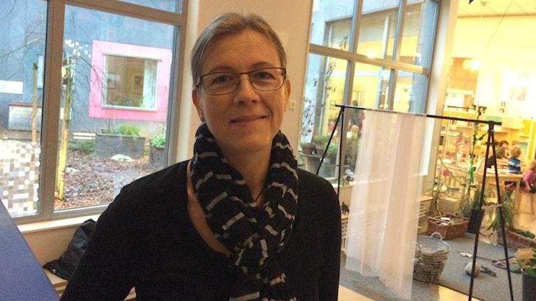 Ellinor Skaremyr arbetar på förskola i Skövde.