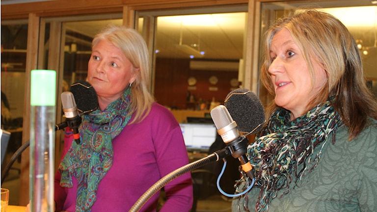 Lenita Karlsson och Tina Klang, matstafetten i Skövde