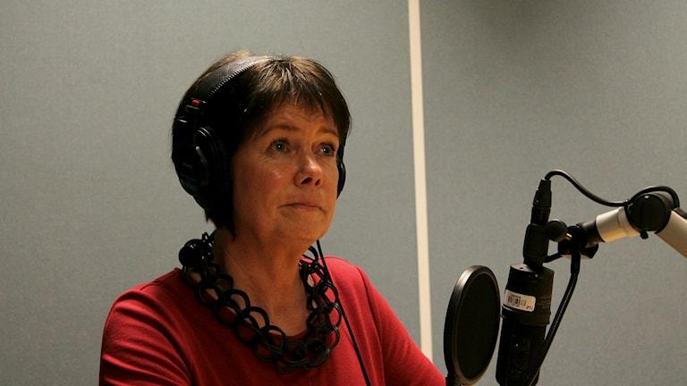 Katarina Jonsson. Foto: Marie Schnell/ Sveriges Radio