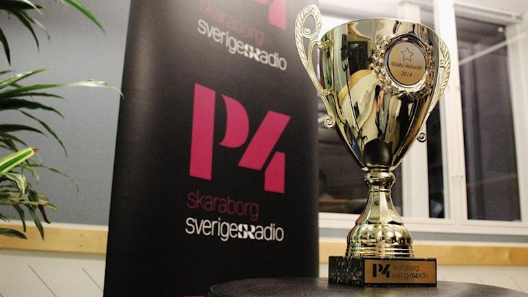 Pokalen P4 Skaraborg Bästa imitatör 2014