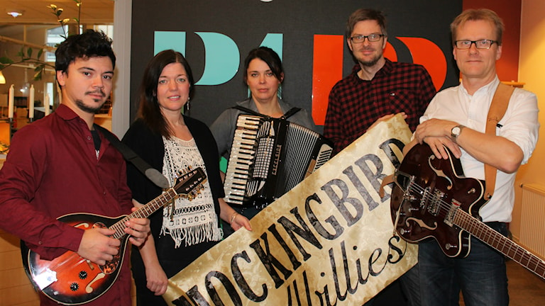 Mockingbird Hillbillies. Foto: Camilla Milton / P4 Skaraborg Sveriges Radio
