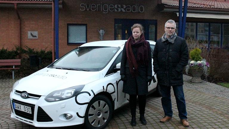 Sara Karlsson och Tomas Ek