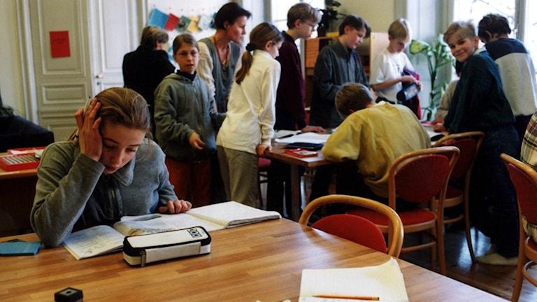 Skövdefamiljen kämpar för sin dotters rätt. Personerna på bilden har inget med artikeln att göra. Foto:Ingvar Svensson/TT
