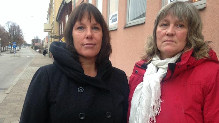 Maud Bengtsson och Christina Brinkemo från Attention Skaraborg