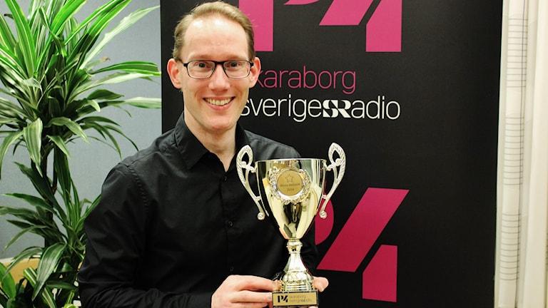 P4 Skaraborgs imitationstävling 2014: Jörgen Andersson från Sandhem vann.