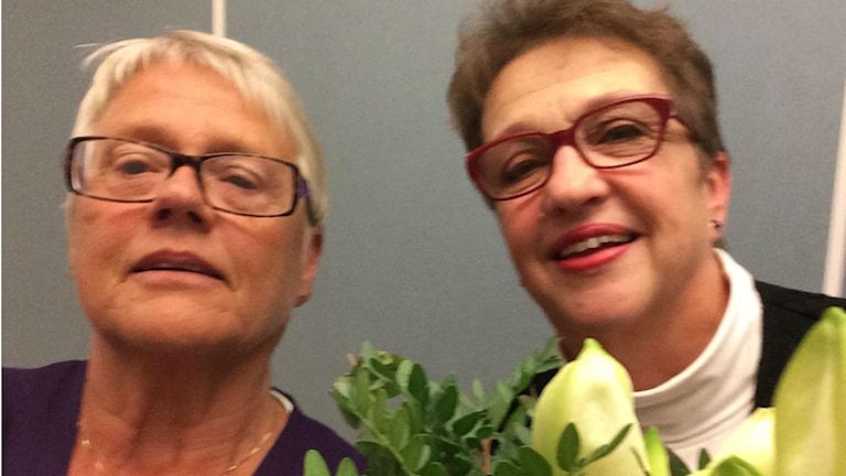 Margareta Lilja och Ulla Andersson.