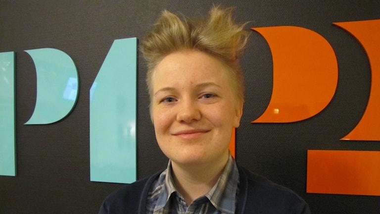 Mathilda Larsson är ungdomsvärldsmästare i filateli.