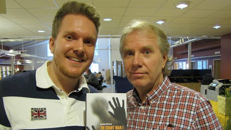 Erik och Sten Flygare. Foto: Linda Gustavsson / P4 Skaraborg