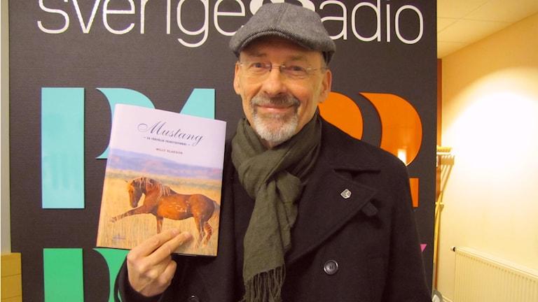 Författaren Willy Klaeson. Foto: Camilla Milton / P4 Skaraborg Sveriges Radio
