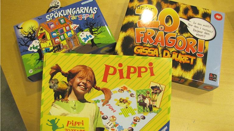 Sällskapsspel för barn. Foto: Camilla Milton / P4 Skaraborg