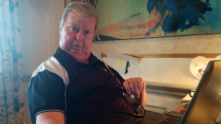 Claes-Göran Olsson överlevde tsunamin
