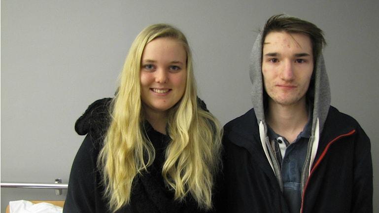 Julia Strålman och Alexander Karlsson