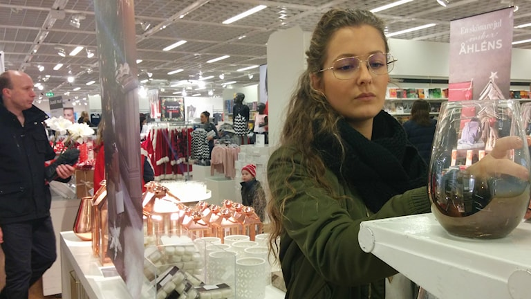 Sandra Andersson, Lidköping i julruschen