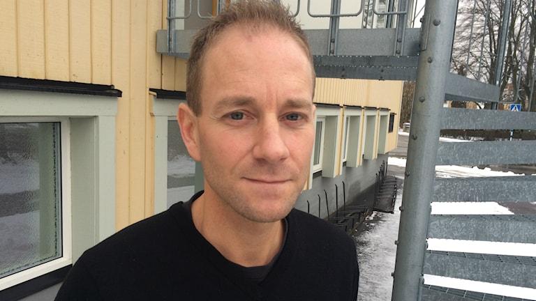 Patric Löfborg är ledare i Fröjereds IF. Foto: Tomas Ek