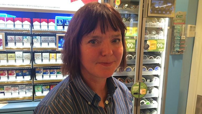Carina Pettersson på Handelsanställdas Förbund.