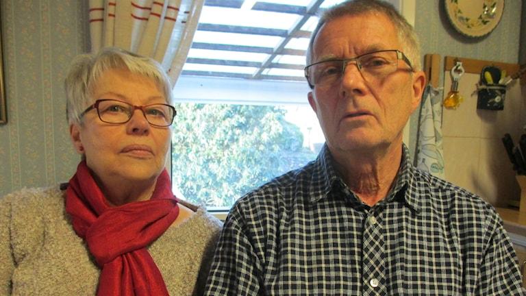 Birgitta och Bo Stenemar om kortbedrägerierna.