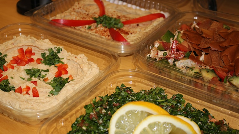 Mat från Syrien