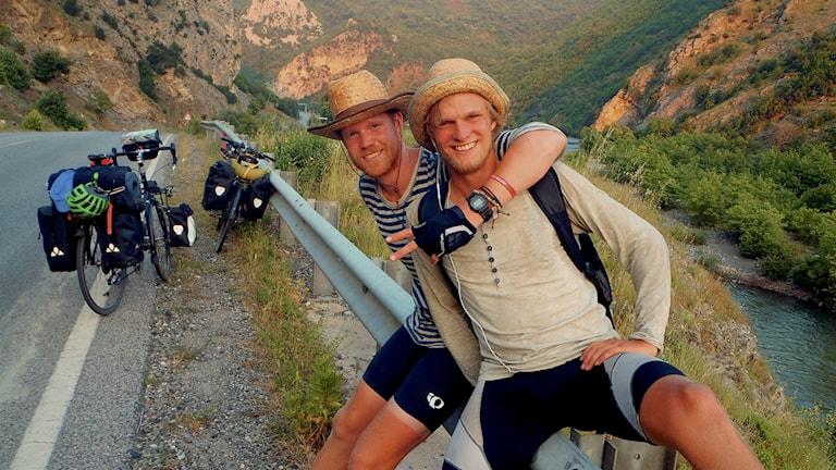 Marcus Aspsjö och Jonathan Ljungqvist. Foto: privat