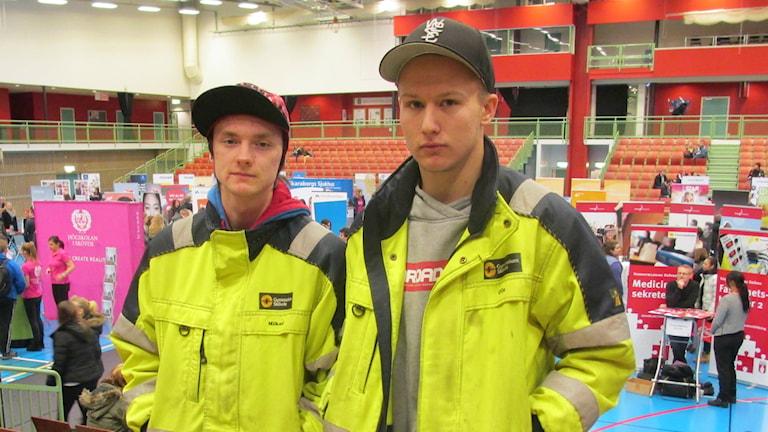 Olle Jansson om studie- och yrkesmässan.