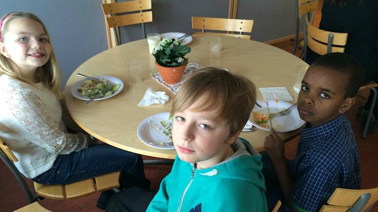 I deras matsal har ljudnivån diskuterats under lång tid.