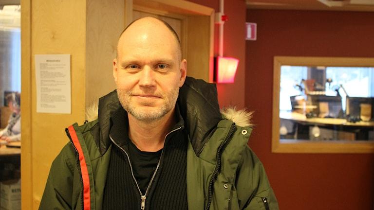 Anders Larsson, utredare inom polisen.
