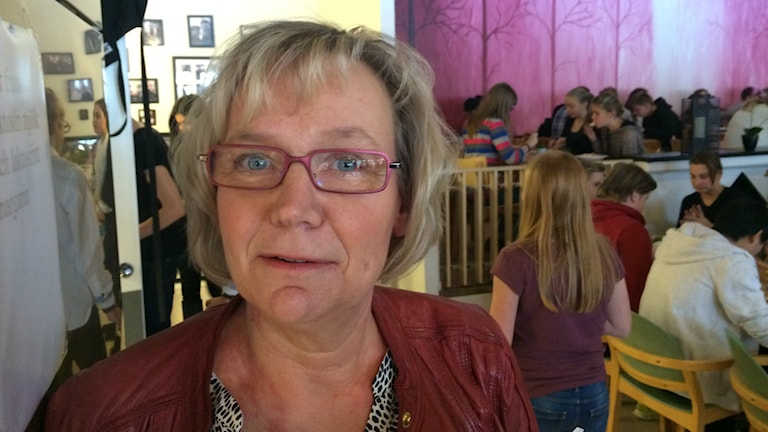 Eva Sundberg arbetar vid Livsmedelsverket.