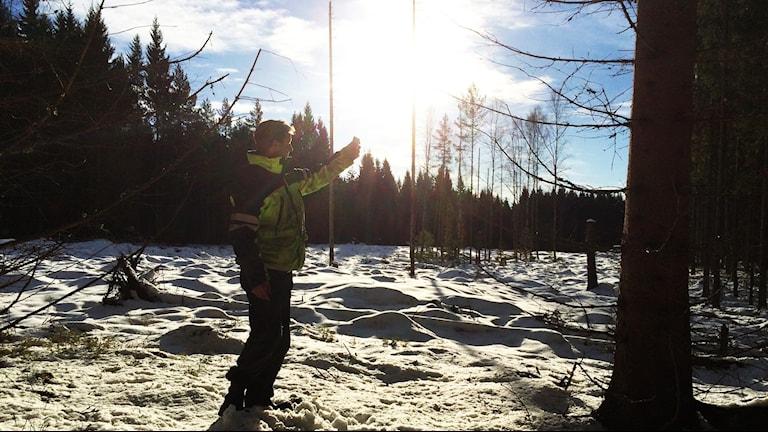 Martin Andersson, skogsarbetare från Hova