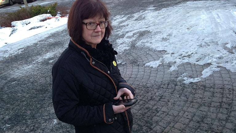 Monika Didriksson. Foto: Jenny Josefsson P4 Skaraborg Sveriges Radio