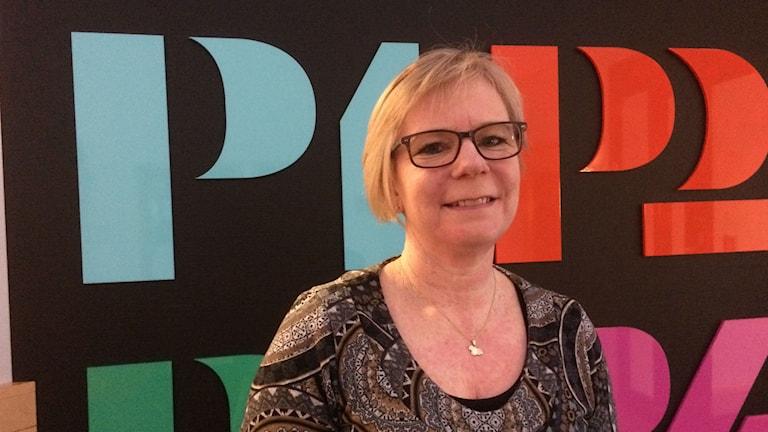 Karin Wiberg, konsumentvägledare i Skaraborg. Foto Margareta Lilja/Sveriges Radio