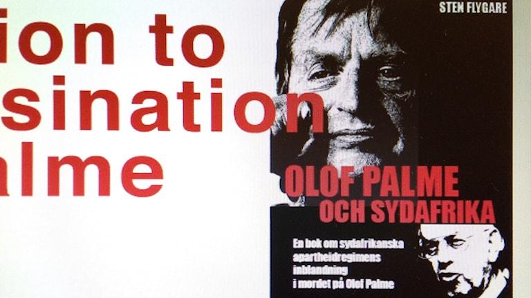 Boken Olof Palme och Sydafrika. Foto: Camilla Milton P4 Skaraborg