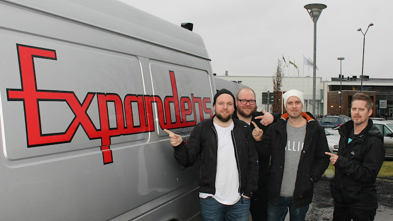 Expanders - Nils Andersson, Jan-Åke Glavén, Alexander Björnfot och David Lundberg.