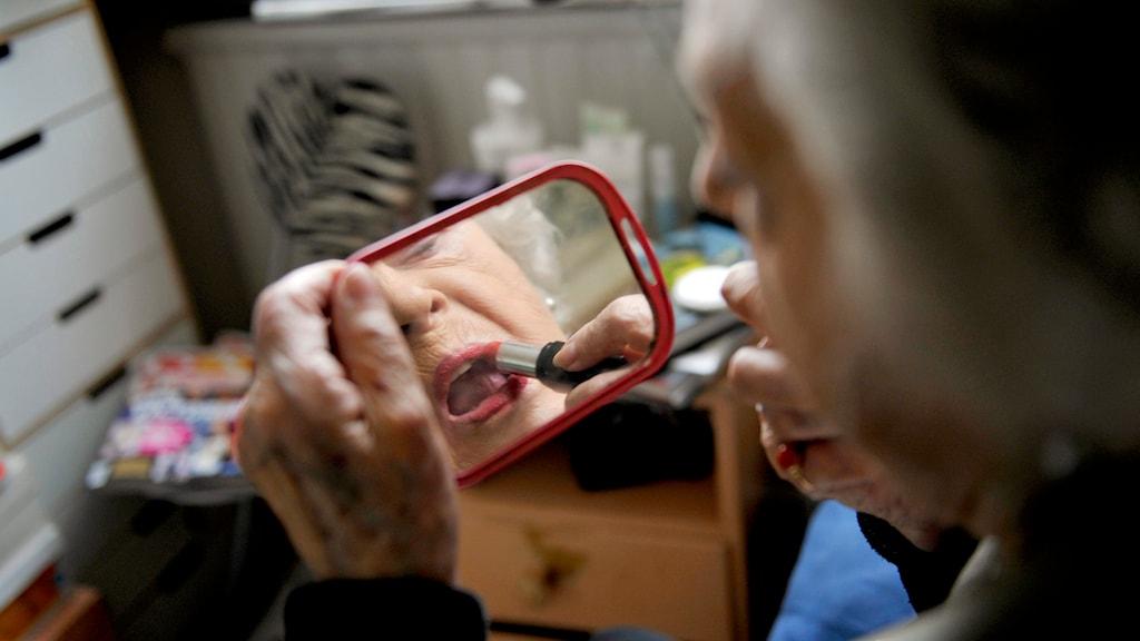 Söker ålderdomens dolda gåta. Foto: Bertil Ericson / TT