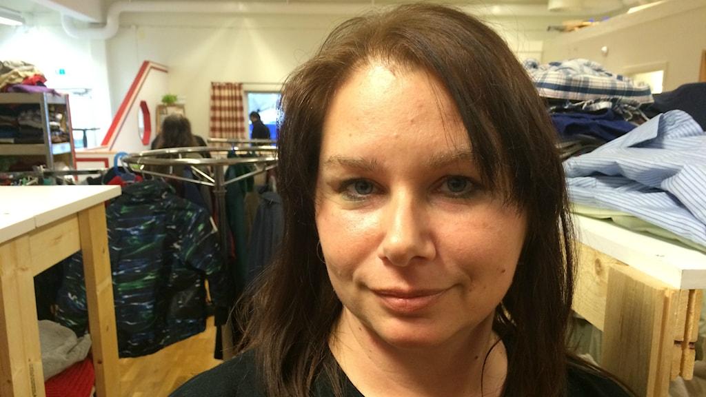 Karin Långström Vinge är präst i svenska kyrkan.