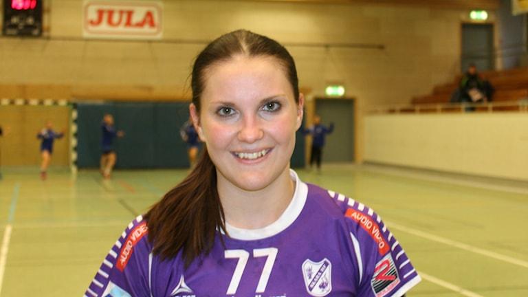 Alexandra Roos fortsätter att ösa in mål. Mot Helsingborg blev det sex nya fullträffar.
