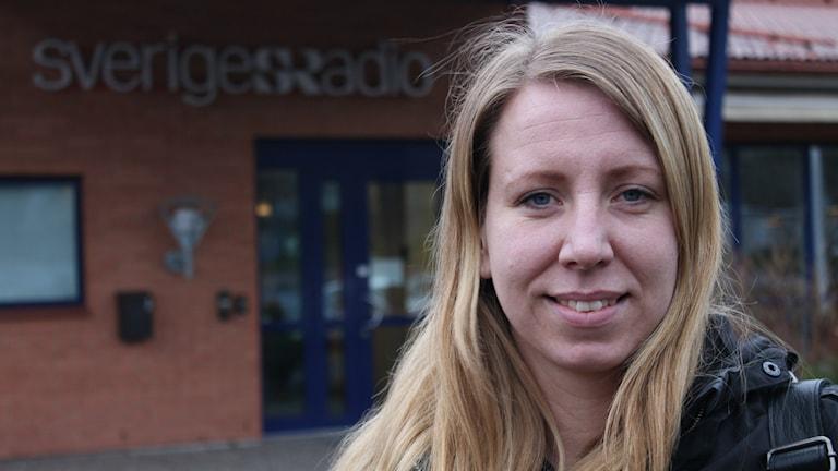 Angelica Johansson, Svenska Jägareförbundet. Foto: Linda Gustavsson P4 Skaraborg Sveriges Radio