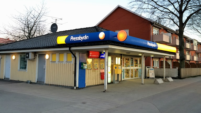 pressbyrån i Töreboda